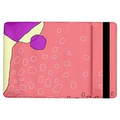 Pink abstraction iPad Air Flip