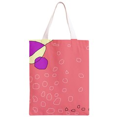 Pink abstraction Classic Light Tote Bag