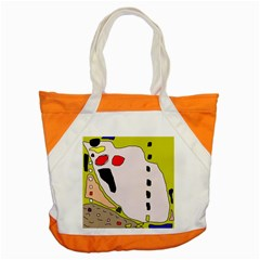 Yellow abstraction Accent Tote Bag