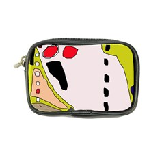 Yellow abstraction Coin Purse