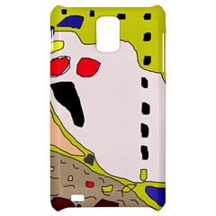 Yellow abstraction Samsung Infuse 4G Hardshell Case