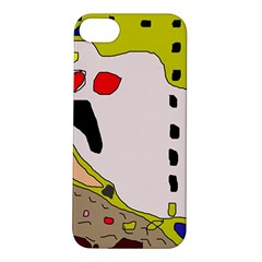 Yellow abstraction Apple iPhone 5S/ SE Hardshell Case