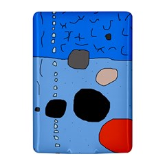 Blue abstraction Kindle 4