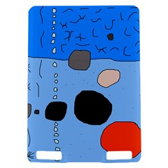 Blue abstraction Kindle Touch 3G