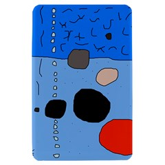 Blue abstraction Kindle Fire (1st Gen) Hardshell Case