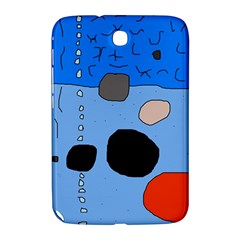 Blue abstraction Samsung Galaxy Note 8.0 N5100 Hardshell Case