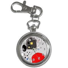 Playful abstraction Key Chain Watches