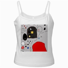 Playful abstraction Ladies Camisoles