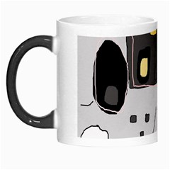 Playful abstraction Morph Mugs