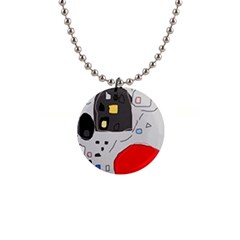 Playful abstraction Button Necklaces