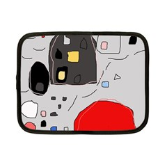 Playful abstraction Netbook Case (Small)