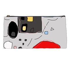 Playful abstraction Pencil Cases