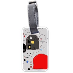Playful abstraction Luggage Tags (One Side)