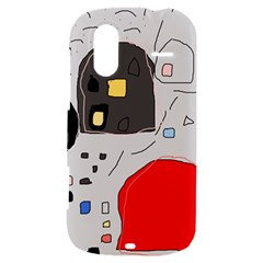 Playful abstraction HTC Amaze 4G Hardshell Case