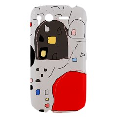 Playful abstraction HTC Desire S Hardshell Case
