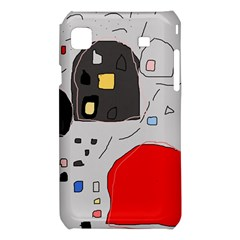Playful abstraction Samsung Galaxy S i9008 Hardshell Case
