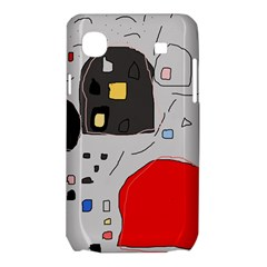 Playful abstraction Samsung Galaxy SL i9003 Hardshell Case