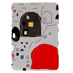 Playful abstraction Samsung Galaxy Tab 8.9  P7300 Hardshell Case
