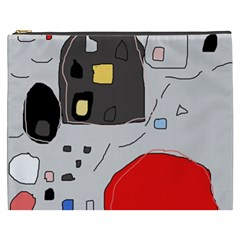 Playful abstraction Cosmetic Bag (XXXL)