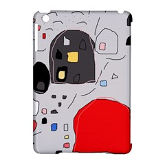 Playful abstraction Apple iPad Mini Hardshell Case (Compatible with Smart Cover)
