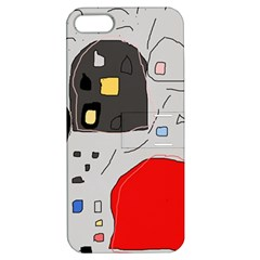 Playful abstraction Apple iPhone 5 Hardshell Case with Stand