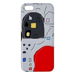 Playful abstraction Apple iPhone 5 Premium Hardshell Case