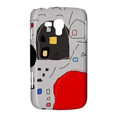 Playful abstraction Samsung Galaxy Duos I8262 Hardshell Case