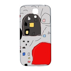 Playful abstraction Samsung Galaxy S4 I9500/I9505  Hardshell Back Case