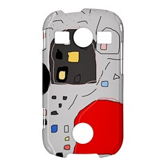 Playful abstraction Samsung Galaxy S7710 Xcover 2 Hardshell Case