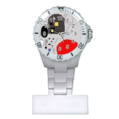 Playful abstraction Plastic Nurses Watch