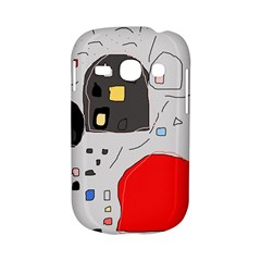 Playful abstraction Samsung Galaxy S6810 Hardshell Case