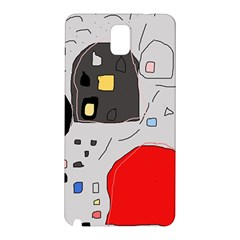Playful abstraction Samsung Galaxy Note 3 N9005 Hardshell Back Case