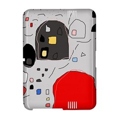 Playful abstraction Amazon Kindle Fire (2012) Hardshell Case