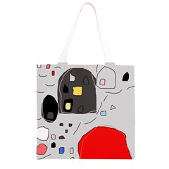 Playful abstraction Grocery Light Tote Bag