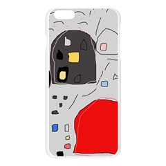 Playful abstraction Apple Seamless iPhone 6 Plus/6S Plus Case (Transparent)