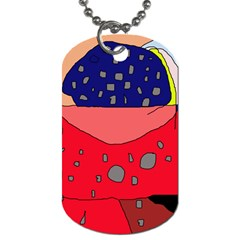 Playful abstraction Dog Tag (Two Sides)