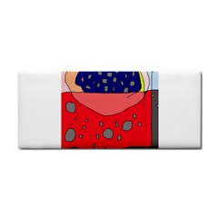 Playful abstraction Hand Towel