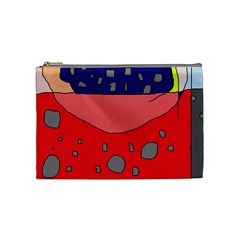 Playful abstraction Cosmetic Bag (Medium)