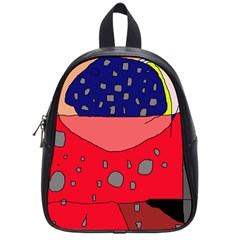 Playful abstraction School Bags (Small)