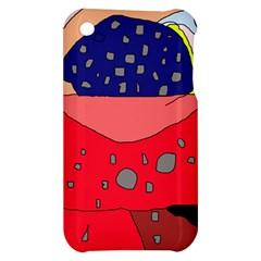 Playful abstraction Apple iPhone 3G/3GS Hardshell Case