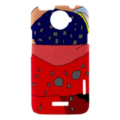Playful abstraction HTC One X Hardshell Case