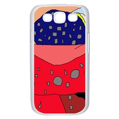 Playful abstraction Samsung Galaxy S III Case (White)