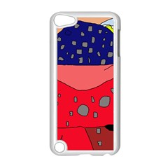Playful abstraction Apple iPod Touch 5 Case (White)