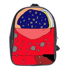 Playful abstraction School Bags (XL)
