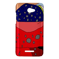 Playful abstraction HTC Butterfly X920E Hardshell Case