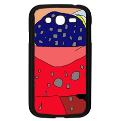 Playful abstraction Samsung Galaxy Grand DUOS I9082 Case (Black)
