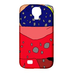 Playful abstraction Samsung Galaxy S4 Classic Hardshell Case (PC+Silicone)