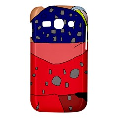 Playful abstraction Samsung Galaxy Ace 3 S7272 Hardshell Case