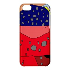 Playful abstraction Apple iPhone 5C Hardshell Case