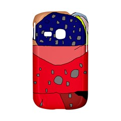Playful abstraction Samsung Galaxy S6310 Hardshell Case